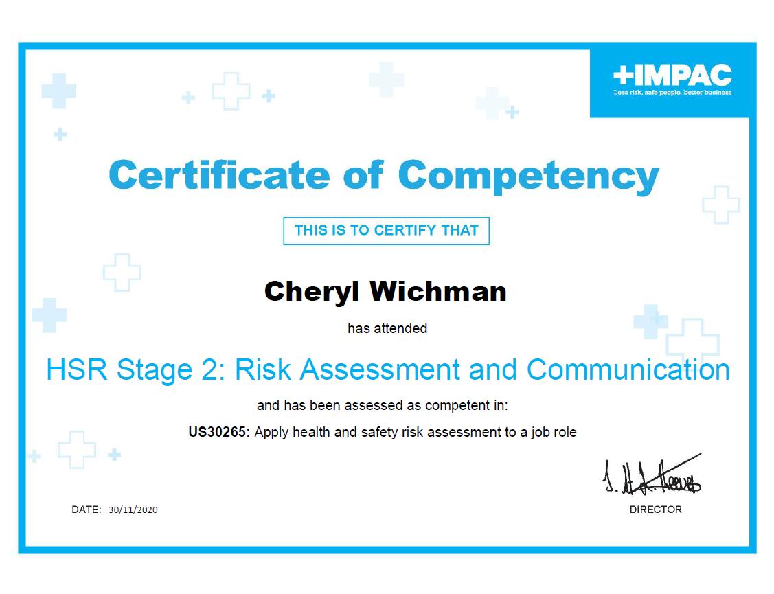 Risk Assessment & Communications